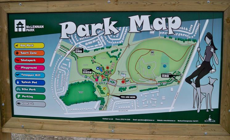 Mclennan Park Kitchener Construction