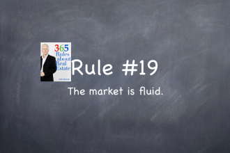 Rule #19: The market is fluid.