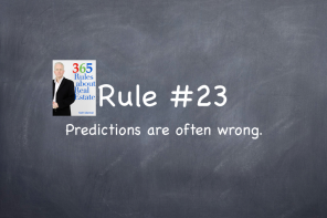 Rule #23: Predictions are often wrong.