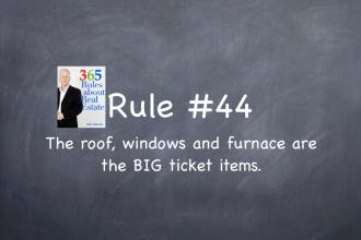roof, windows, furnace