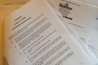 city of waterloo licensing