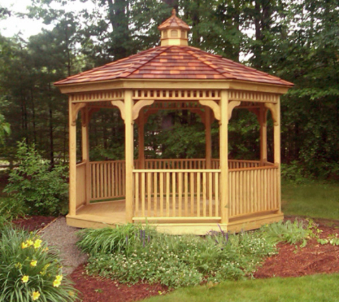 gazebo - What Is The Difference Between A Porch And A Veranda, A Gazebo And A