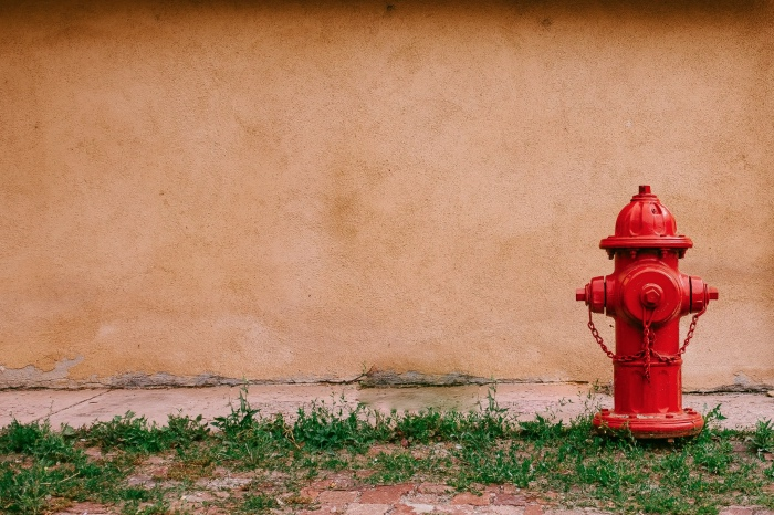 fire hydrants and other public easements