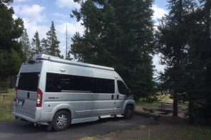 Van life - not camping